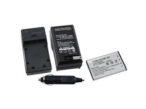 BasAcc Charger/ Battery Set for Casio Exilim EX-Z75/ EX-Z77