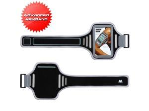 BasAcc Gray/ Black Universal Armband Case for Cell Phone