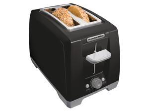 Proctor Silex Cool Touch Black 2-slice Wide Slot Toaster