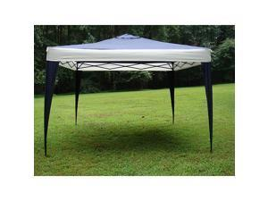 ProGarden Polyester Top/Steel Frame Canopy Tent (10' x 10')