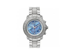 Joe Rodeo Blue Mother-Of-Pearl Men's 'Junior' Diamond Watch