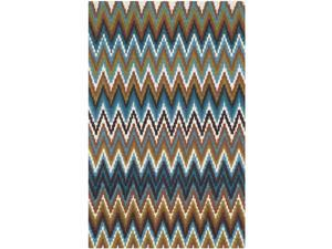 Safavieh Hand-loomed Cedar Brook Green/ Blue Cotton Rug (2'3 x 3'9)