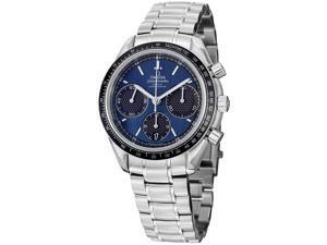 Omega Men's 326.30.40.50.03.001 'Speedmasteracing' Blue Dial Stainless Steel Watch