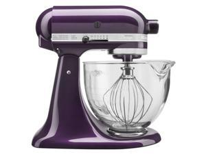 KitchenAid KSM155GBPB Plumberry 5-quart Artisan Design Tilt-Head Stand Mixer ** with $50 Cash Mail-in Rebate **