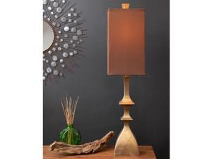 Glamorous Gold Geometric Table Lamp