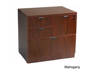 Boss Cherry or Mahogany Finished Combo Lateral File