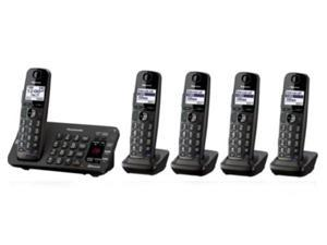 Panasonic KX-TG465SK DECT 6.0 Plus Link-to-cell Bluetooth Cordless Phone System