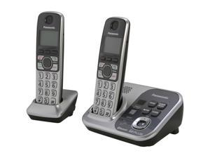 Panasonic KX-TG7732S 1.9 GHz Digital DECT 6.0 Link to Cell via Bluetooth Cordless Phone with Integrated Answering Machine ...