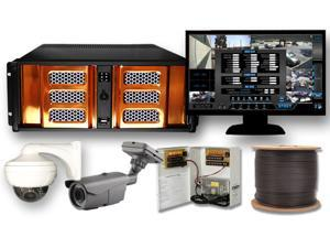 4 Channel 1080P High Definition HD-SDI Security Video Camera Surveillance Video Package HD-CCTV System