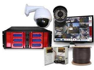8 Channel Business DVR PTZ Controller Surveillance System H.264 Video Security