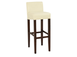 "Brooklyn 32"" Wood/Faux Leather Barstool"