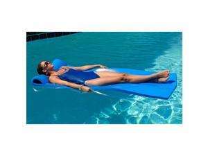 Oversized Unsinkable Foam Cushion Pool Float (Ocean Blue)