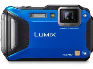 Lumix DMC-TS5 Digital Camera (Blue)