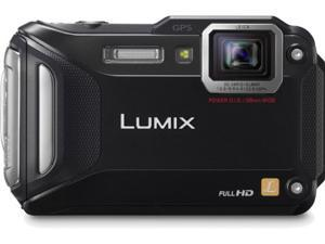 Lumix DMC-TS5 Digital Camera (Black)