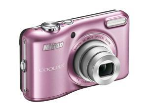 Nikon COOLPIX L28 Pink 20.1 MP Wide Angle Digital Camera