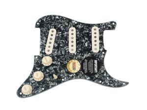 Fender Original '57/'62 Strat Loaded Pickguard Black Pearl / Aged White