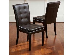 Barrington Leather Dining Chair 2pk