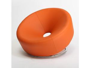 Christopher Knight Home 258635 Modern Round Accent Chair - Orange