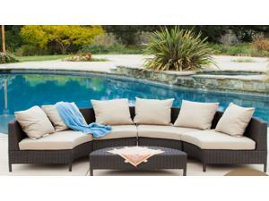 Christopher Knight Home Newton 5pc lounge set w/cushions