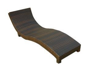 Christopher Knight Home Brown PE Wicker Chaise Lounge