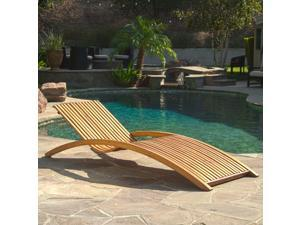 Christopher Knight Home Salinas Outdoor Sunbed Lounge