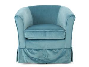 Christopher Knight Home Cecilia Velvet Swivel Club Chair