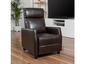 Christopher Knight Home Tabahri Bonded Leather Recliner Club Chair