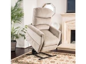 Christopher Knight Home Larissa Fabric Recliner Lift Club Chair