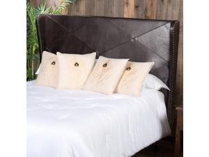 Christopher Knight Home Waterville Adjustable King/Cal King Bonded Leather Headboard