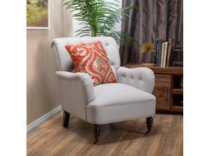 Christopher Knight Home Randle Haven Tufted Fabric Club Chair