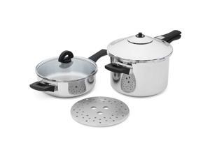 Kuhn Rkon DUO 6-Piece Duromatic Pressure Cooker Set