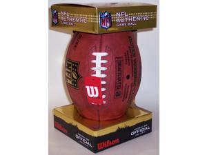 WILSONF1200ThanksgivingCowboys Wilson Official NFL Football - The Duke - Thanksgiving Day - Cowboys vs Redskins