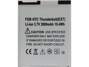 NEW EXTENDED LIFE BATTERY + DOOR COVER FOR HTC THUNDERBOLT 4G LTE ADR6400 VERIZON 2800 mAh