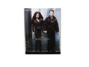 Barbie Twilight Breaking Dawn Part 2 Bella and Edward Doll Set