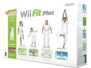 New - WII FIT PLUS W/BALANCE BOARD - RVLRRFPE