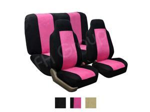 Super Suede Seat Cover pink color Universal seat cover