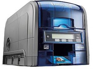SD260 PRINTER, SIMPLEX COLOR 100 CARD INPUT HOPPER