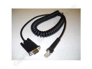 Datalogic 8-0736-03 8ft. Cable Coiled RS232 DB9S RoHS