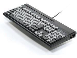 Unitech Kp3700-T2Ube Black,Usb,104Key,Msr12,9Pin Bc Port,92Programmable/88Releg