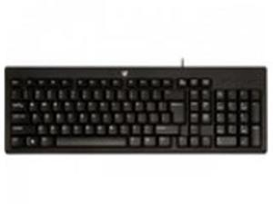 STANDARD KEYBOARD, USB CABLE BLACK