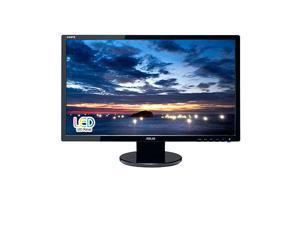 "ASUS VE247H 24"" 1920x1080 Res 10000000:1 Contrast Ratio 2ms (GTG) Response Time Built-in speaker Full HD 16:9 Wide Screen ..."