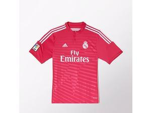 Men's 2014/15 Real Madrid Isco Pink Away Soccer Jersey (US Size Medium)