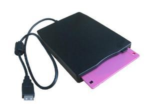 "Slim 3.5"" 1.44MB USB External Floppy Disk Drive for PC Laptop Desktop Windows 2000/ XP/ Vista/ Win 7 Data Storage Such as ..."