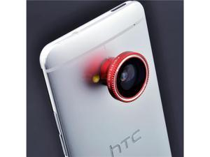Magnetic 3 in 1 Fisheye Lens+Wide Angle+Micro Lens Photo Kit For HTC One M7