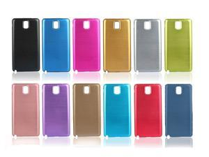 Dark Pink Metal Aluminum Replacement Case Battery Cover Silver For Samsung Galaxy Note 3 N9000
