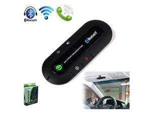 New Bluetooth Car Kit Hands Free Speaker Phone Wireless for Mobile Cell Phone-Black - OEM