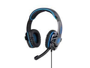 Blue Professional SA-708 Noise Cancelling Stereo Headphone Microphone MIC 3.5mm Games Gaming Headset Headphones Headband ...
