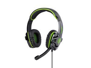 Green Professional SA-708 Noise Cancelling Stereo Headphone Microphone MIC 3.5mm Games Gaming Headset Headphones Headband ...
