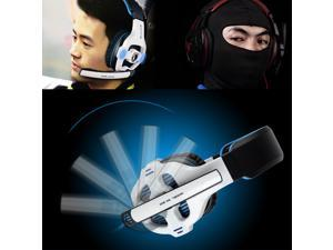 Sades SA-903 Professional Stereo 7.1 USB Gaming Headset Headband Headphone Earphone with Mic Microphone, Surround Sound, ...