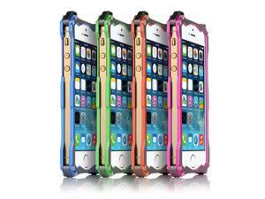 Pink R-JUST Gundam CNC Version Aluminum Metal Hard Frame Bumper  Protective Case Cover for Apple iPhone 5S 5C 5